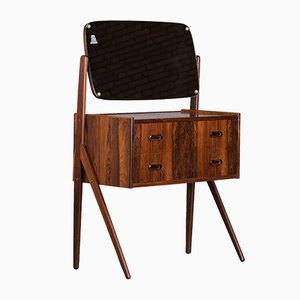 Danish Rosewood Dressing Table from AG Spejl Kobberbeskyttet, 1950s