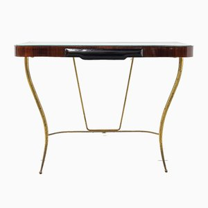 Italian Rosewood Console Table, 1950s