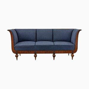 Antikes Sofa mit Gestell aus Birke