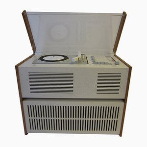Modell Sk61 Plattenspieler und Lautsprecher von Hans Gugelot für Braun, 1966, 2er Set