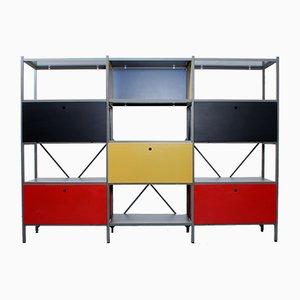 Biombo modular de metal 663 de Wim Rietveld para Gispen, años 50