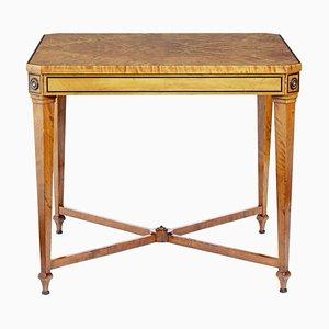 Table d'Appoint Vintage en Bouleau par David Blomberg, années 20