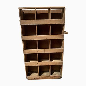 Model D209 Pigeonhole Shelf, 1960s