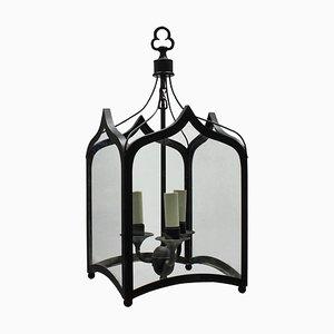 Lámparas de techo estilo gótico de hierro, años 60. Juego de 2