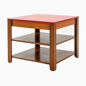 Vintage Compartmented Table from La Permanente Mobili Cantù, 1947
