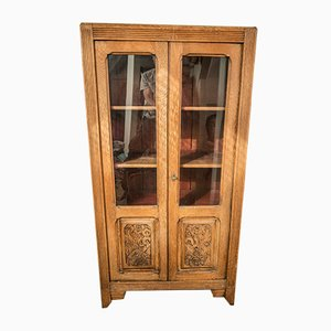 Vintage French Oak Cabinet, 1930s