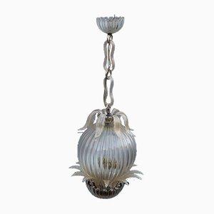 Lámpara de techo vintage de Archimede Seguso para Dream Homes