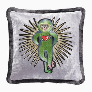 Monkey Cushion by Dinsh London