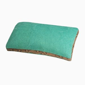 Python Mohair Cushion by Dinsh London