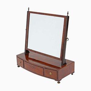 Antique George III Mahogany Dressing Table Mirror