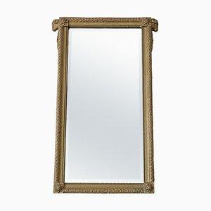 Espejo de manto Century dorado, siglo XIX
