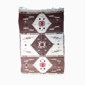 Vintage Algerian Berber Rug