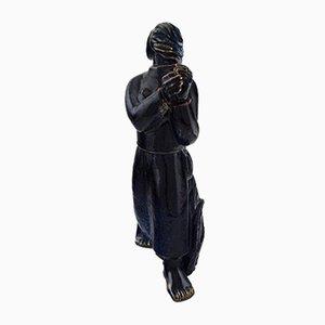 Skulptur von Jais Nielsen für Royal Copenhagen, 1959