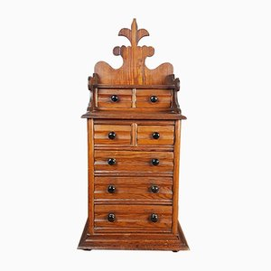 Antique Victorian Pitch Pine Dresser