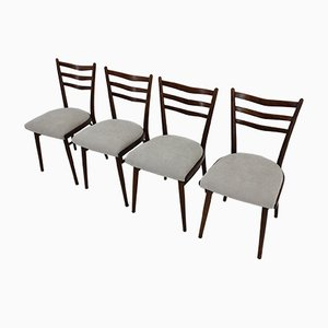 Dining Chairs from Interier Praha, 1970s, Set of 4