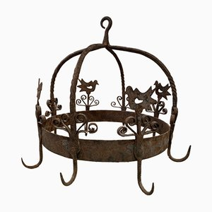 Antique Iron Game Hanger