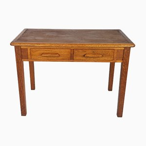 Light Oak Desk from Abbess, 1950s