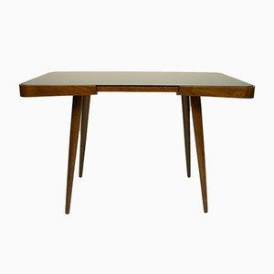 Table Basse en Verre Noir par Jiří Jiroutek pour Interier Praha, 1960s