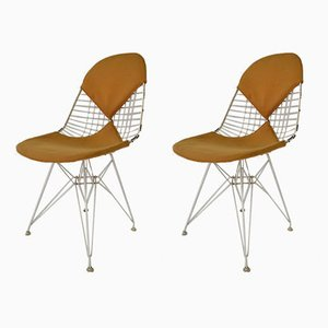 DKR Bikini Stühle von Charles & Ray Eames, 1950er, 2er Set