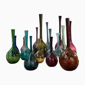 Vintage Vasen von Arthur Percy für Gullaskruf, 1950er, 17er Set