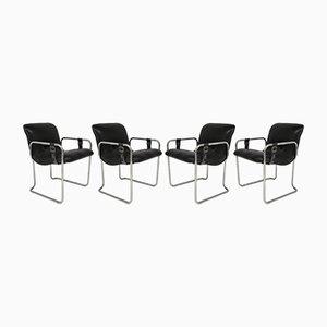Chaises de Bureau Vintage, Set de 4
