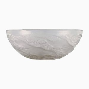Glass Bowl by René Lalique, 1930s