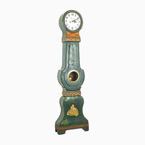 Antike schwedische Mora Uhr von Cederberg