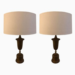 Vintage Table Lamps, 1930s, Set of 2
