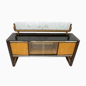 Italian Rosewood Sideboard by Osvaldo Borsani for Arredamenti Borsani, 1950s