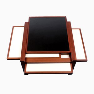 Extendable Coffee Table by Bernard Vuarnesson for Bellato, 1980s