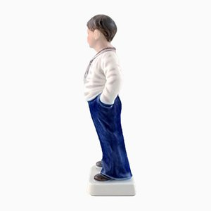 Vintage Model 1225 Porcelain Sailor Boy Figurine by Dahl Jensen