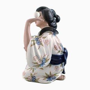 Figurine Modèle 1326 Vintage en Porcelaine par Dahl Jensen
