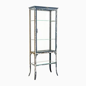 Metal & Glass Cabinet from Manufacture Belge de Genibloux A. Legros, 1920s