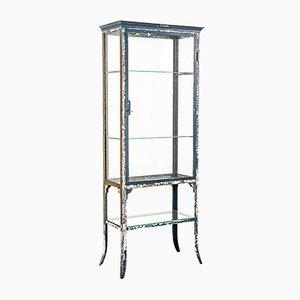 Mueble de metal y vidrio de Manufacture Belge de Genibloux A. Legros, años 20