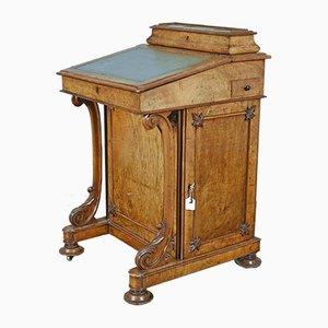 Antiker Davenport Schreibtisch aus Nussholz