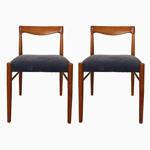 Teak Dining Chairs by H. W. Klein for Bramin, 1960s, Set of 2