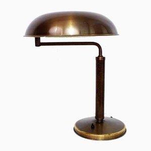 Lámpara de mesa modelo Quick 1500 suiza de Alfred Muller para Amba, años 30