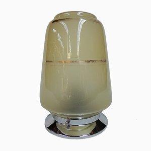Art Déco Deckenlampe aus Glas, 1930er