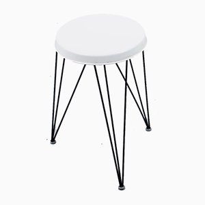 Metal Hairpin Stool by Tjerk Reijenga for Pilastro, 1950s