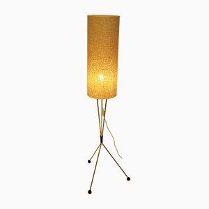 Lámpara de pie con trípode, años 60
