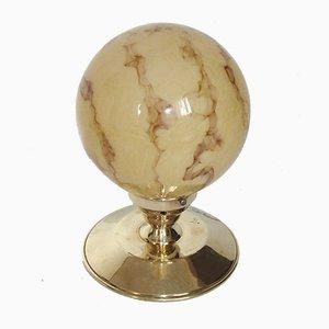 Lámpara de techo Art Déco, años 40