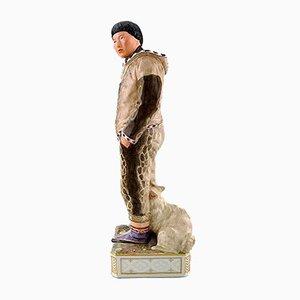 Figurine Antique en Porcelaine par Carl Martin-Hansen pour Royal Copenhagen