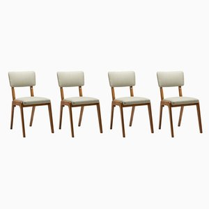Side Chairs from Furniture Factory, 1967, Set of 4
