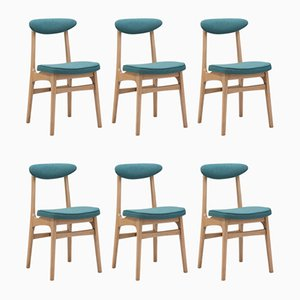 Model 200 & 190 Dining Chairs by R.T. Halas, 1960s, Set of 6