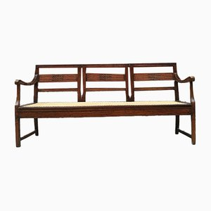 Antique Italian Walnut Bench