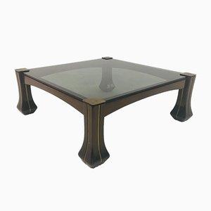 Mid-Century Italian Coffee Table by Luciano Frigerio for Frigerio Di Desio
