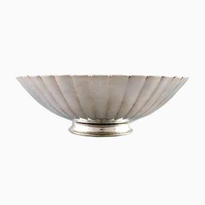 Scodella Art Deco in argento di Georg Jensen