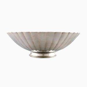 Vintage Art Deco Sterling Silver Bowl from Georg Jensen