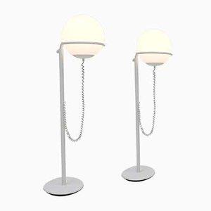 Lámpara de pie Globe de Hala Zeist, años 70