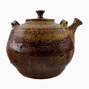 Vintage Stoneware Teapot by Jean Linard, 1964